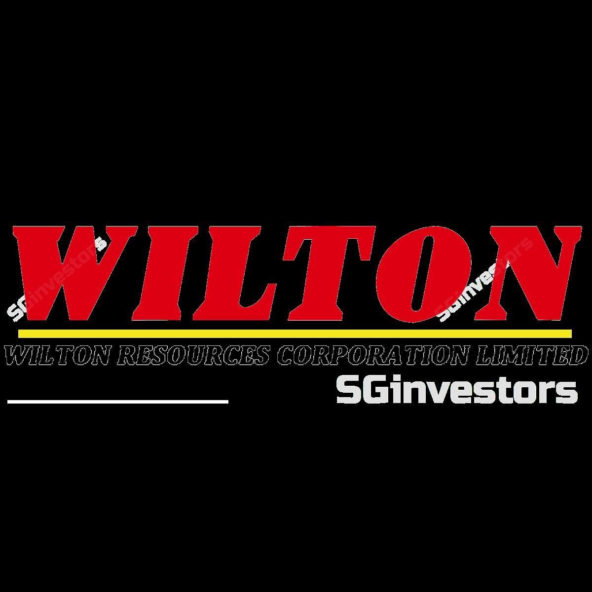 WILTON RESOURCES CORP LIMITED (SGX:5F7) | SGinvestors.io