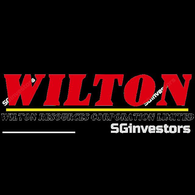 WILTON RESOURCES CORP LIMITED (5F7.SI) @ SG investors.io