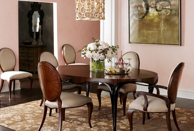Horchow Dining Chairs: Raptured: Dining Rooms To Die For