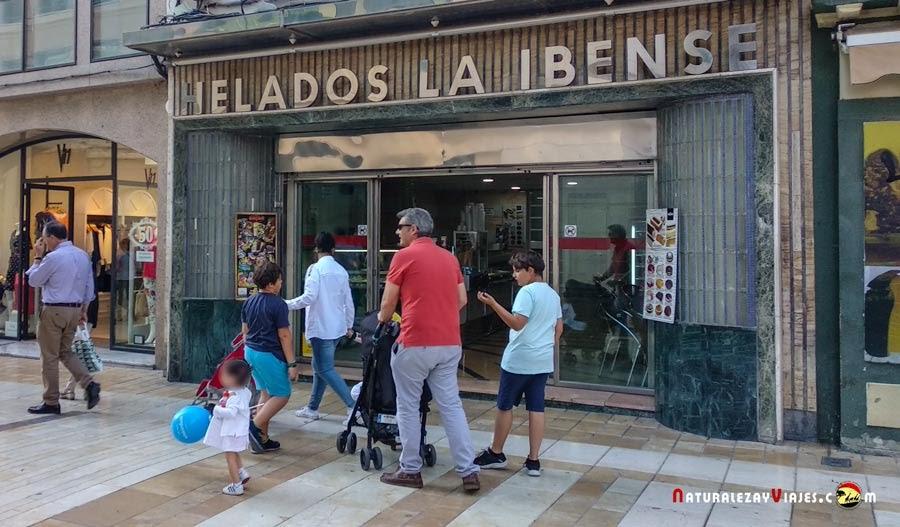 Heladería Ibense, Huelva