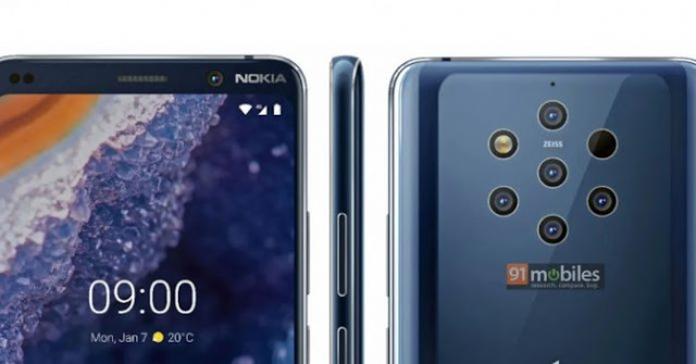 Nokia 9 PureView and Nokia 1 Plus