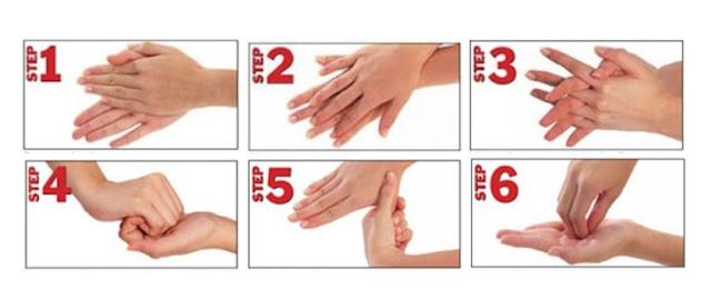 6 Langkah Cuci Tangan Wajib untuk Kesehatan