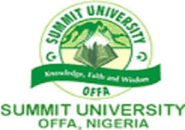SUMMIT UNIVERSITY  Transcript and Document Verification