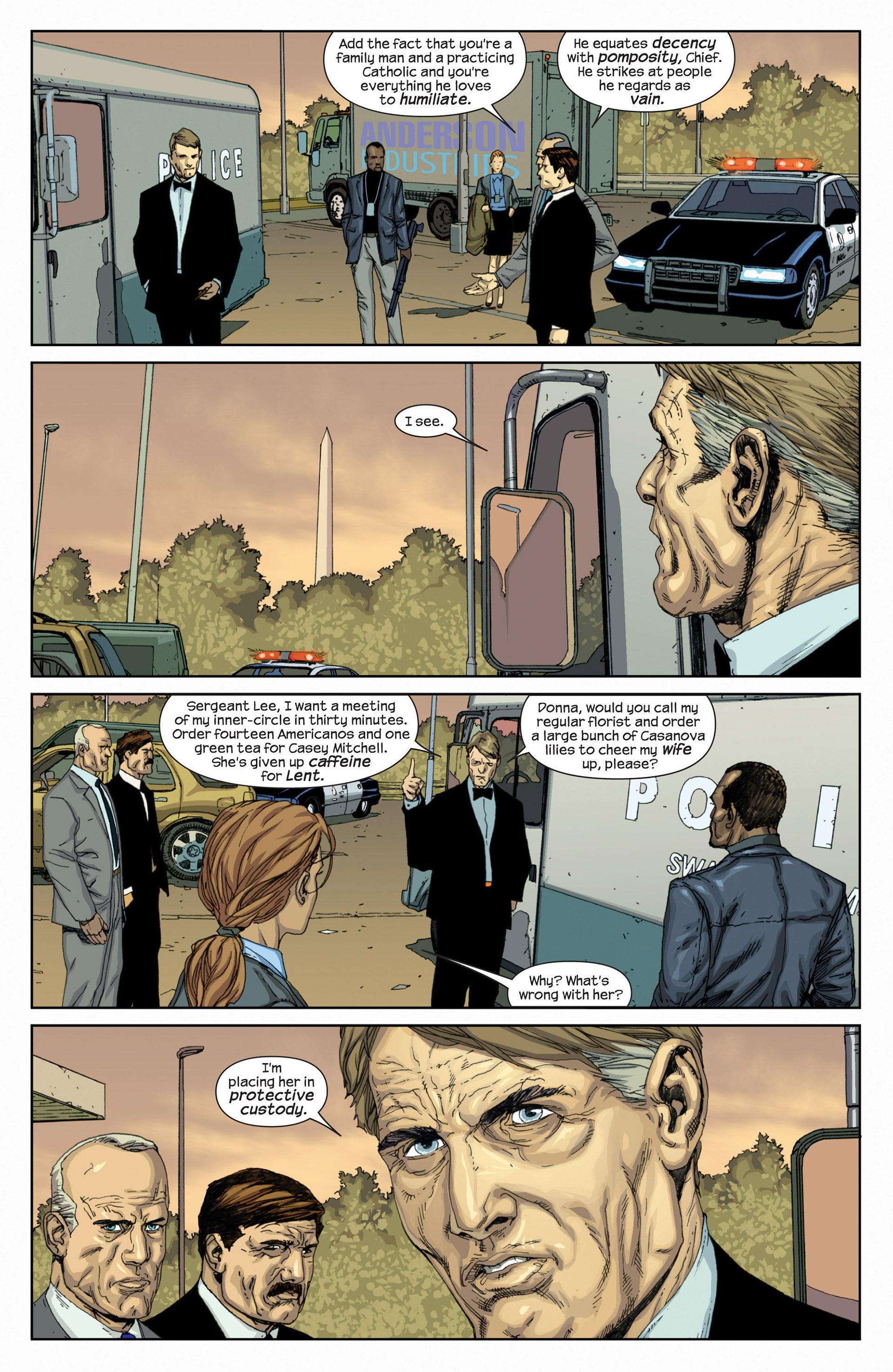 Read online Millar & McNiven's Nemesis comic -  Issue #1 - 17