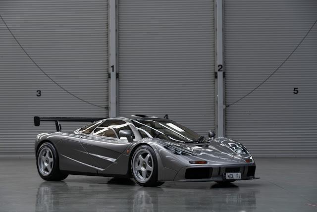 McLaren F1 British supercar