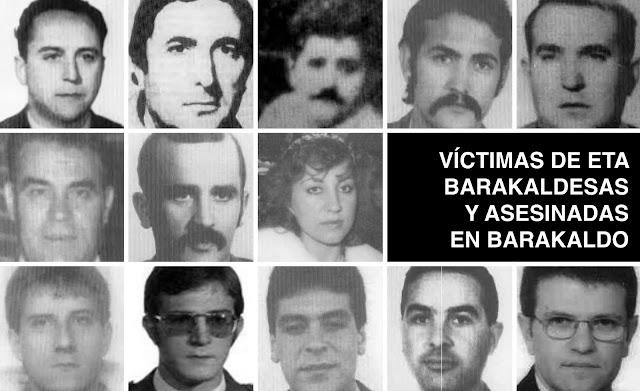 Víctimas mortales de ETA en Barakaldo y barakaldesas