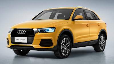 Audi Q3 Yellow HD Wallpapers