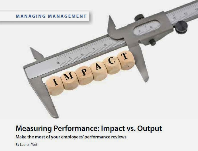 Measuring Performance - by Lauren Yost