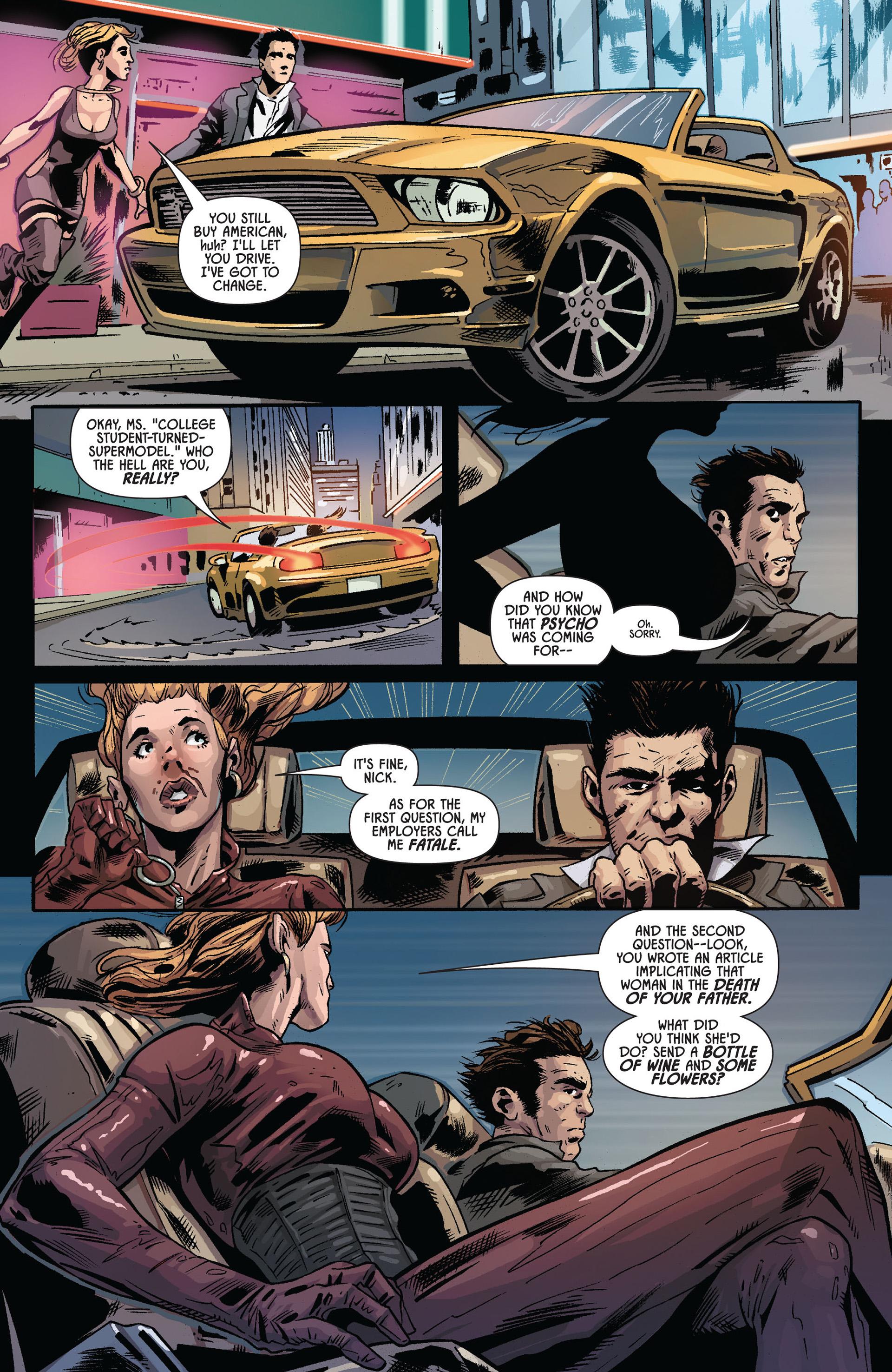 Comic Black Widow 2010 Issue 6
