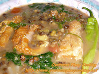 Guinisang Mungo with Salmon Belly