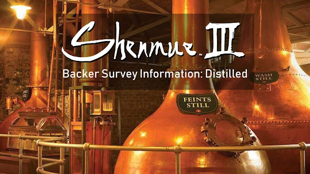 Shenmue III Backer Survey Information: Distilled
