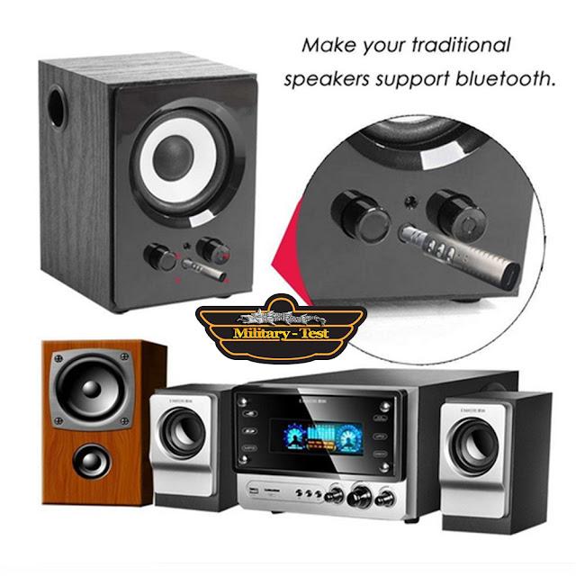 Wireless Bluetooth V4.1 3.5mm AUX Audio Stereo Music Home Receiver Adaptor Merge conectat la orice sistem audio in masina sau acasa.