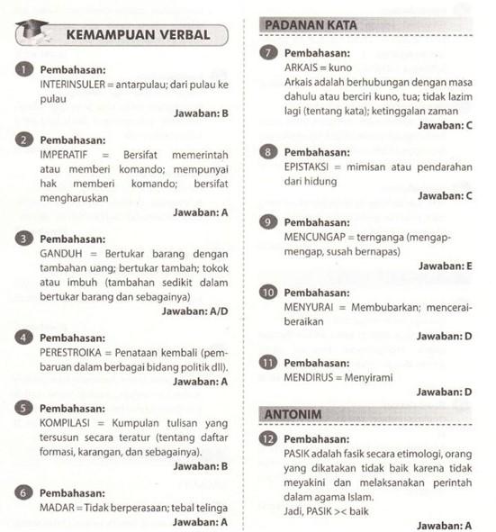 Bagi kamu yang lolos passing grade Bahasa Indonesia dan lolos perangkingan di bawah ini ada contoh Soal SKB Bahasa Indonesia CPNS 2018