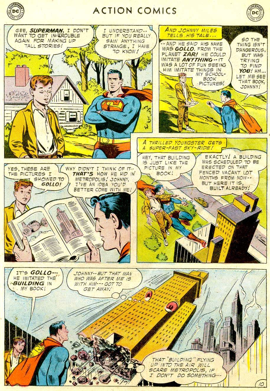 Read online Action Comics (1938) comic -  Issue #234 - 12