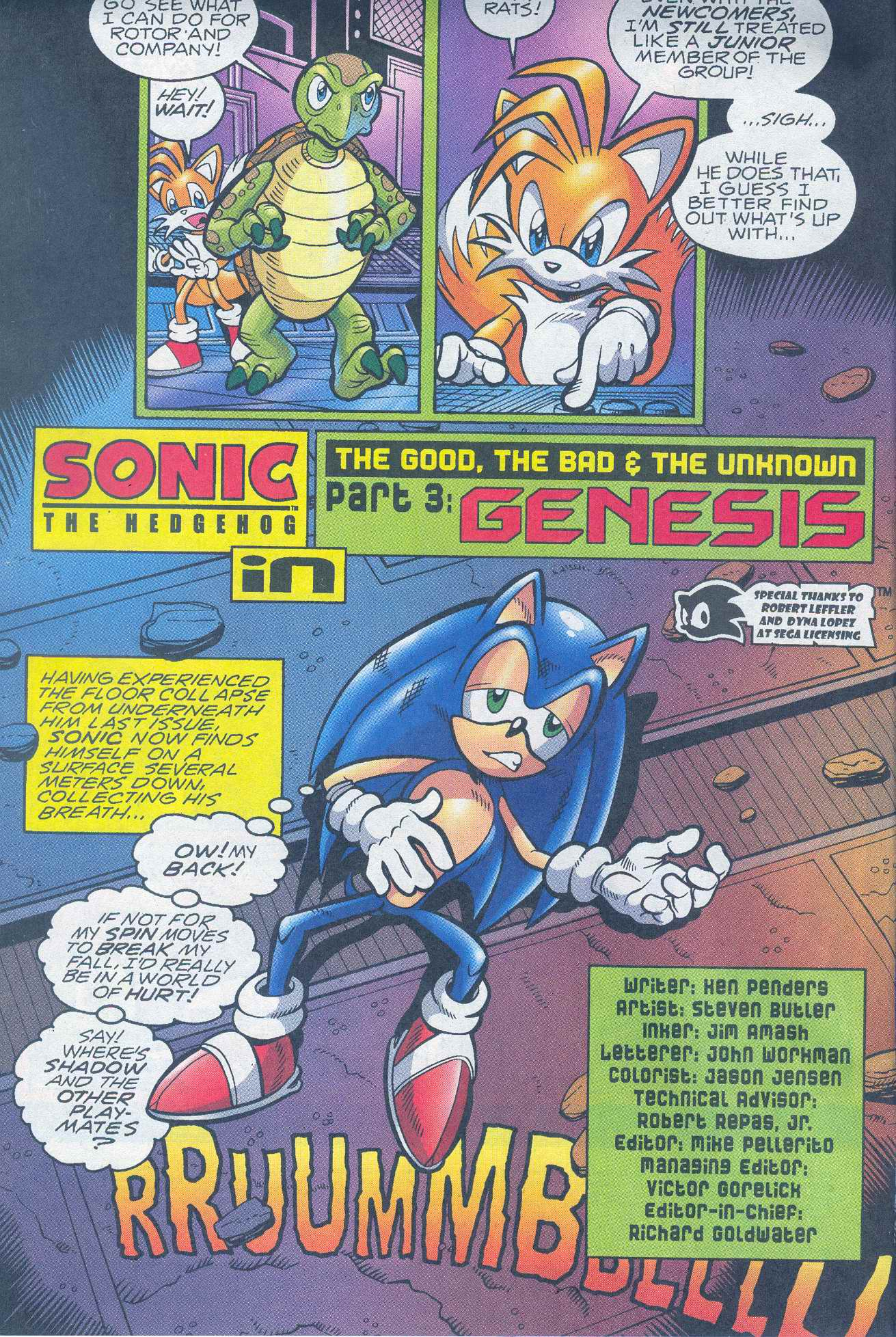 Read online Sonic The Hedgehog comic -  Issue #148 - 3