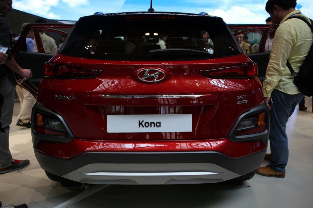 Eksterior Hyundai Kona Pre-order untuk SUV B baru Hyundai di