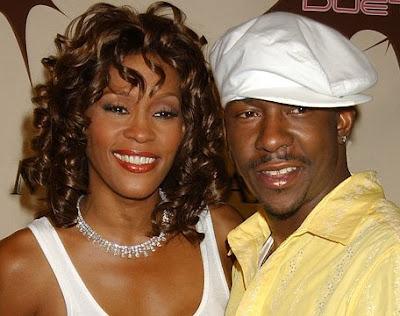 Foto de Bobby Brown con su ex esposa