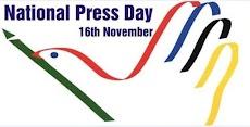 தேசிய பத்திரிகை தினம் - நவம்பர் 16 (National Press Day)