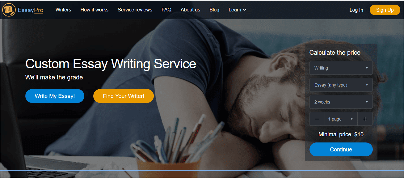 essaypro com review legit essay writing services essaypro com