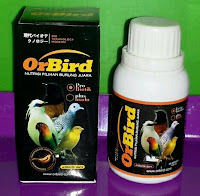 Vitamin Burung Merk Orbird 125 ml