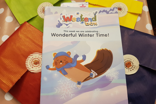 Wonderful Winter time crafts with WeekendBox Club subscription