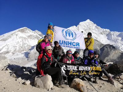 This group of mountaineers hiked for the world's refugees. So can you