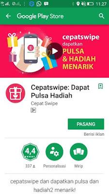 Download Apk CepatSwipe tebaru 2017