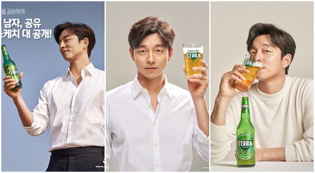 孔劉-TERRA啤酒廣告拍攝花絮照