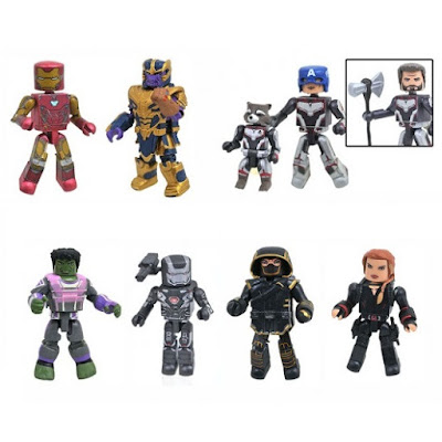 Walgreens Exclusive Avengers: Endgame Marvel Minimates Series by Diamond Select Toys