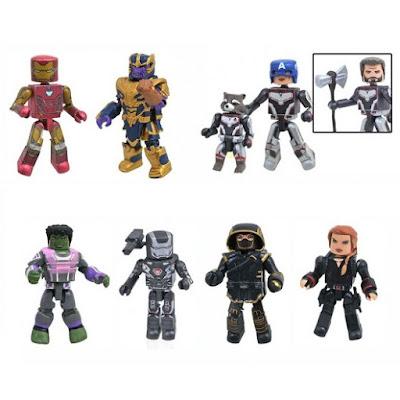 Walgreens Exclusive Avengers: Endgame Marvel Minimates Series by Diamond Select Toys