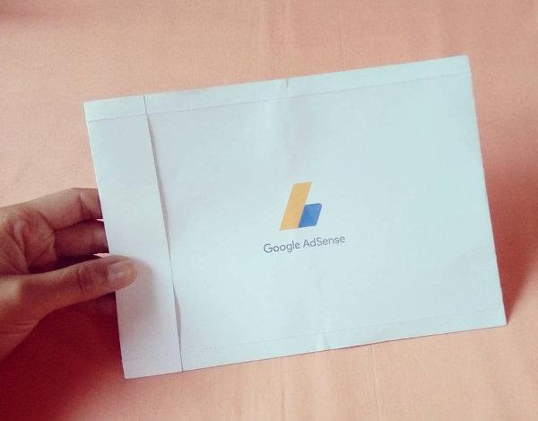 Minha carta Google Adsense chegou
