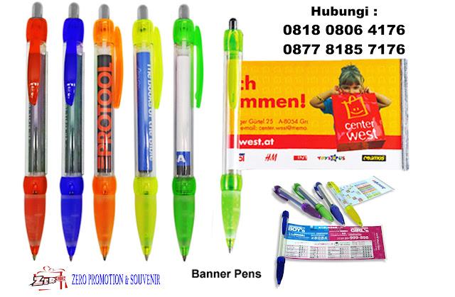 Jual Pen Promosi Banner / Brosur murah di tangerang