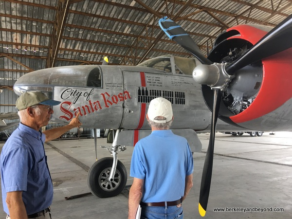 Andy Werback describes A-26 at Pacific Coast Air Museum in Santa Rosa, California