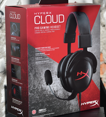Auriculares Kingston Hiper X Cloud