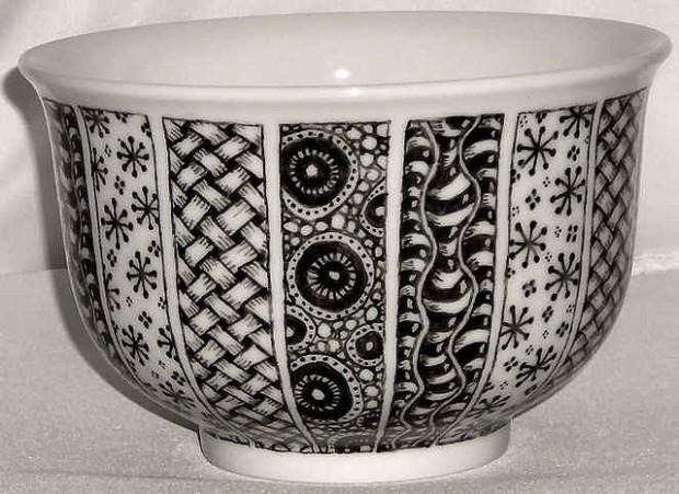 ceramika Zentangle