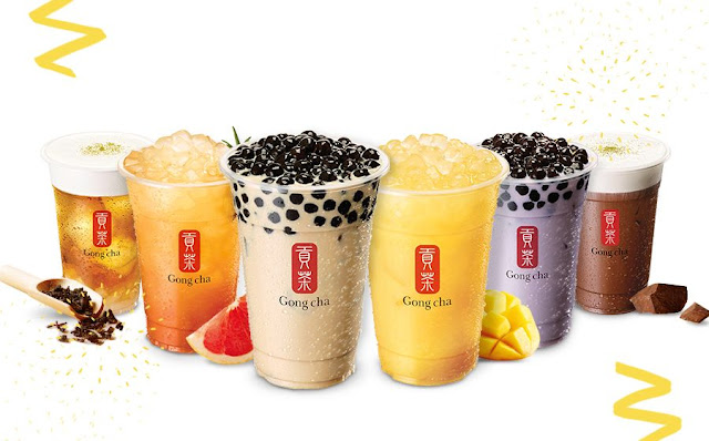 Bubble Tea Gong Cha
