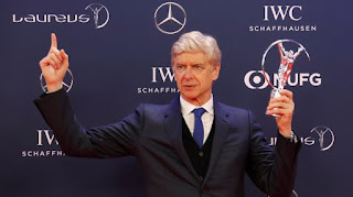 arsene wenger wins lifetime awards at laureus awards
