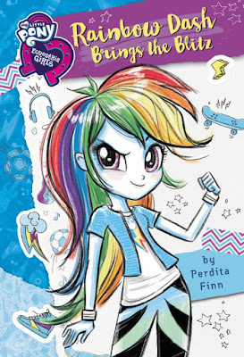 The Rainbow Dash Brings the Blitz EG Book Gets a Cover