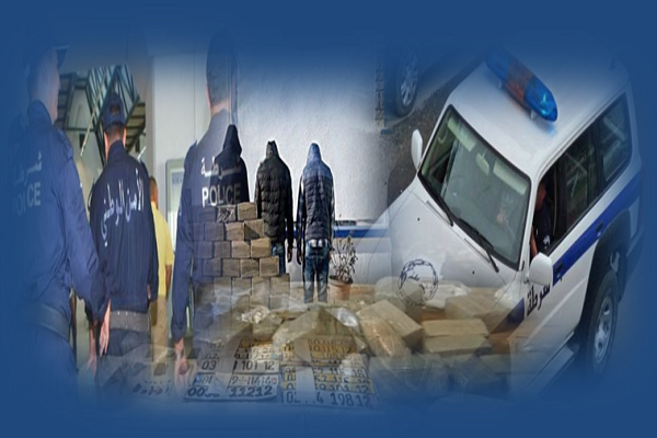 شرطة الشلف  تحجز 5كلغ مخدرات و3سيارات لشبكة ترويج السموم