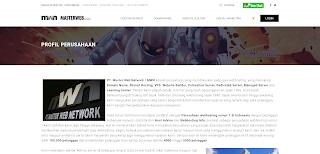 Gambar Screenshot Masterweb
