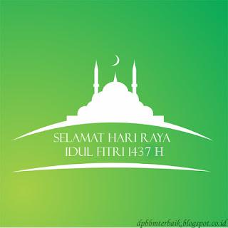 Ucapan Selamat Hari Raya Idul Fitri 1437 H terbaru bikin adem hati
