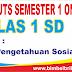 Soal UTS IPS Online Kelas 1 ( Satu ) SD Semester 1 ( Ganjil ) - Langsung Ada Nilainya