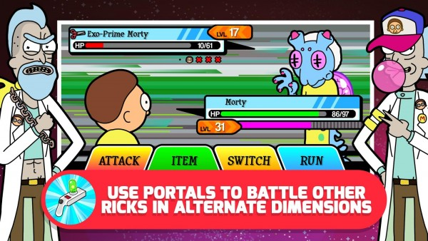 Pocket Mortys Apk v1.2.3