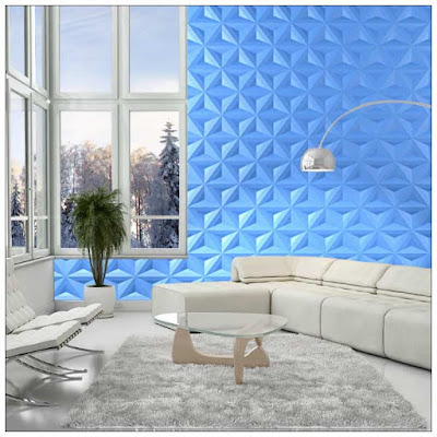 Modern 3d gypsum wall panels installation, 3d gypsum panels for living room