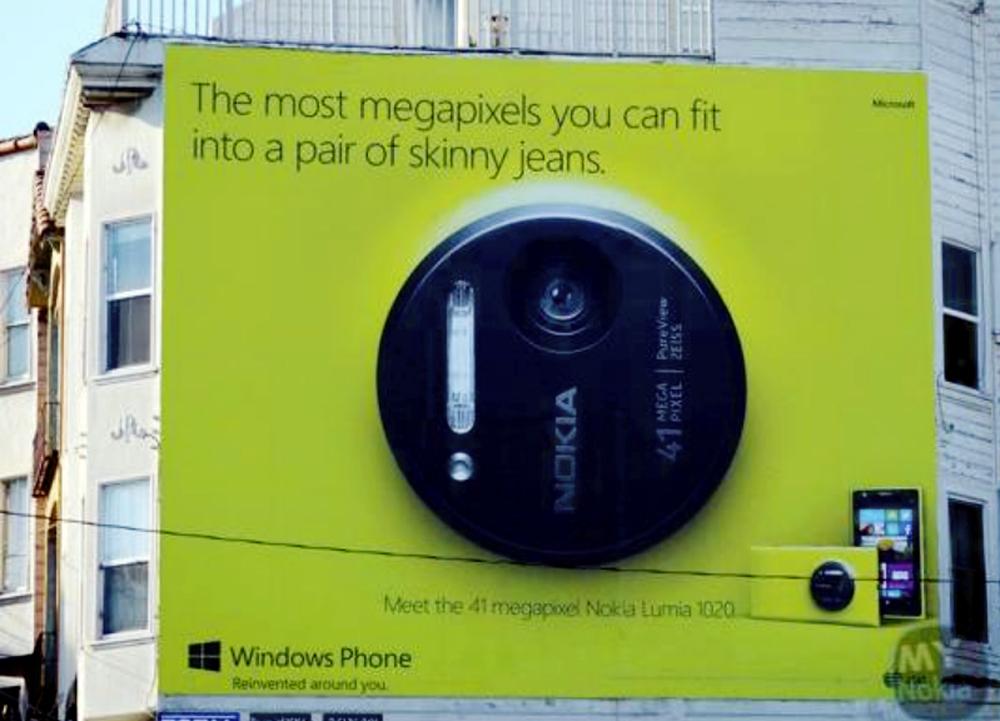 Nokia Lumia 1020 Cibir Samsung Galaxy S4 Zoom