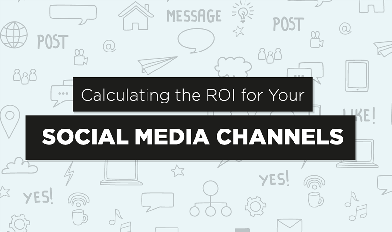 How to Calculate the ROI for Your #SocialMedia Channels - #infographic