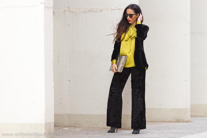 Blogger influencer de moda valenciana con ideas para vestir dia fiesta ceremonia