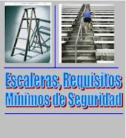 Seguridad en uso de escaleras