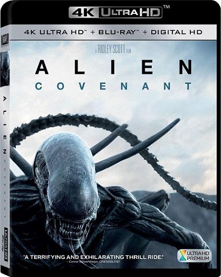 Alien: Covenant 4K (2017) 2160p 4K UltraHD HDR BluRay REMUX 40GB mkv Dual Audio Dolby TrueHD ATMOS 7.1 ch