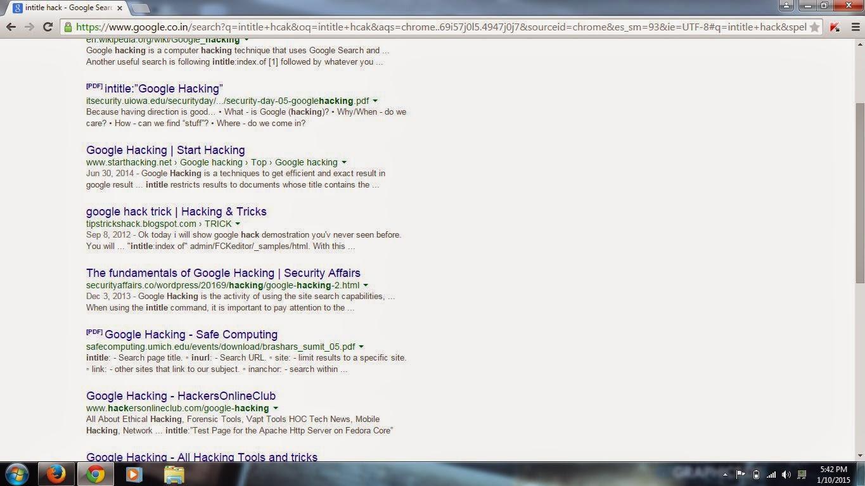 HCAK: Google Hacks